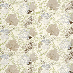 Thibaut Molokini Natural Sateen Twill Cotton Printed Drapery and Upholstery Fabric 54 inches wide 75 cents  a yard.