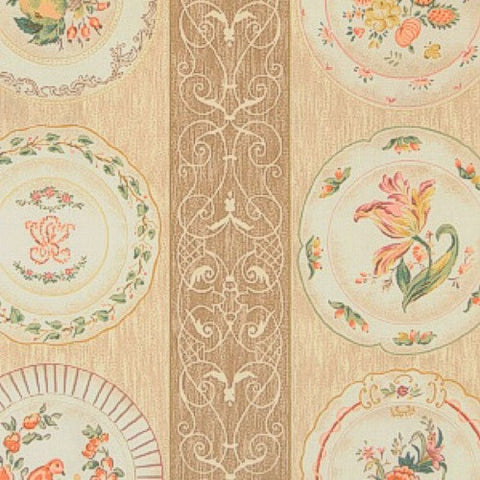 Porcelain Drapery and Upholstery 100% Cotton Fabric 54 inch wide $1.49  a yard. To view available inventory click on the drop-down box below