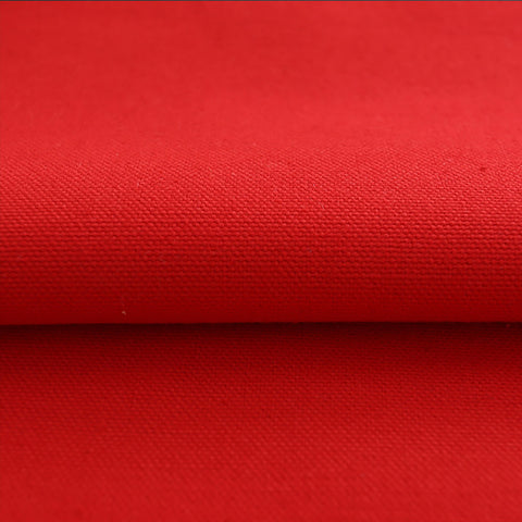 Red Duck 100% Cotton Canvas Fabric  10 ounce/square yard 60 inch wide $1.25 a yard
