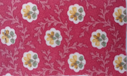 Rosette Grenadine Drapery and Printed Upholstery 100% Cotton Canvas Fabric 55 inch wide $1.49 a yard.To view available inventory click on the drop-down box below.