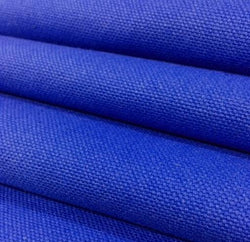 Royal Blue Color Mildew Resistant Duck 100% Cotton Canvas Fabric 60 inch wide $1.75 a yard