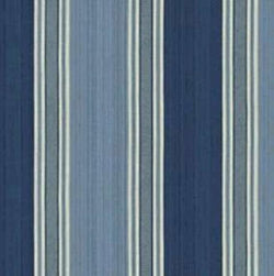 Waverly Fabrics Spotswood Stripe Porcelain 100 cotton canvas drapery and printed upholstery print 54 inches wide $1.50 to $12.99 a yard
