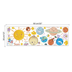 Nursery / Kids' Room Wall Decal - Solar System