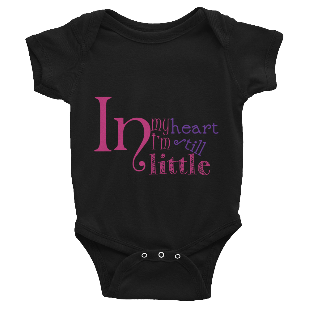 "Bodysuit ""In my heart I am still little"""