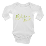 "Long Sleeve Bodysuit ""If I like it, its mine"""