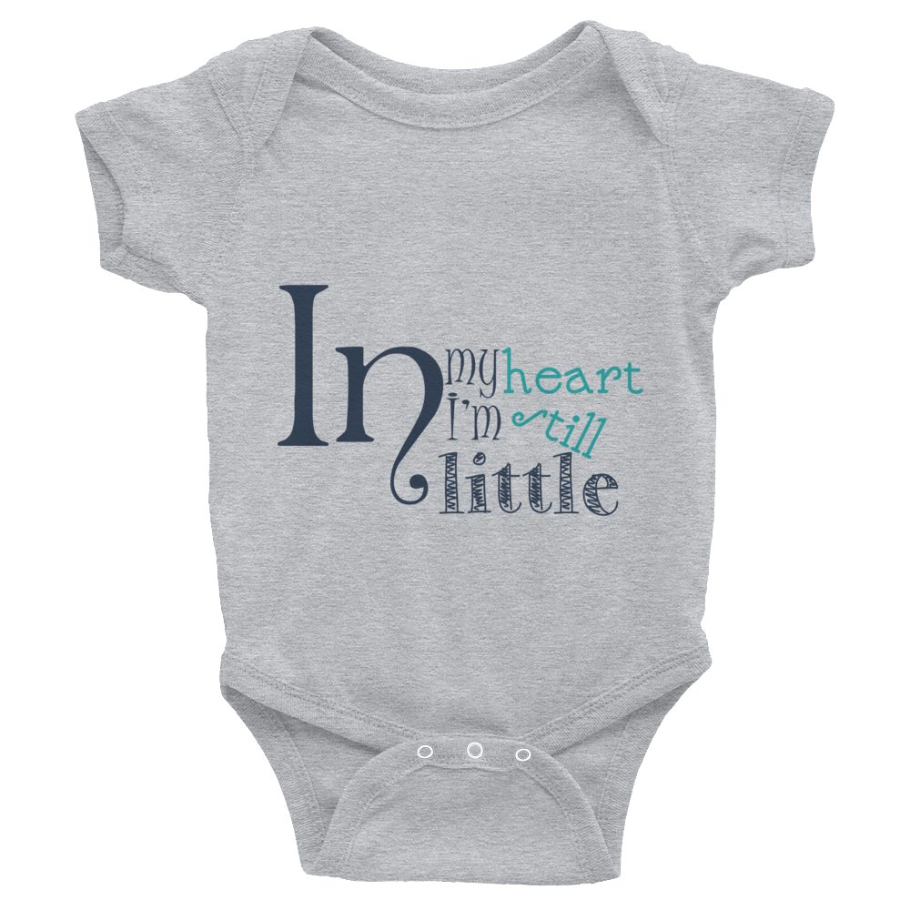 "Bodysuit ""In my heart, I am still little"""