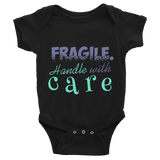"Bodysuit ""Fragile. Handle with care""-KneeBees"