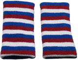 Red White Blue Knee Pads For Kids