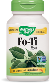 Fo-Ti Root, 100 vegetarian capsules/ 610mg