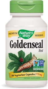 Goldenseal Root, 100 vegetarian capsules/ 570mg