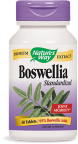 Boswellia Standardized, 60 tablets