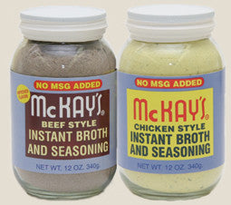 McKay's Beef Seasoning (No MSG Added) 12 oz.