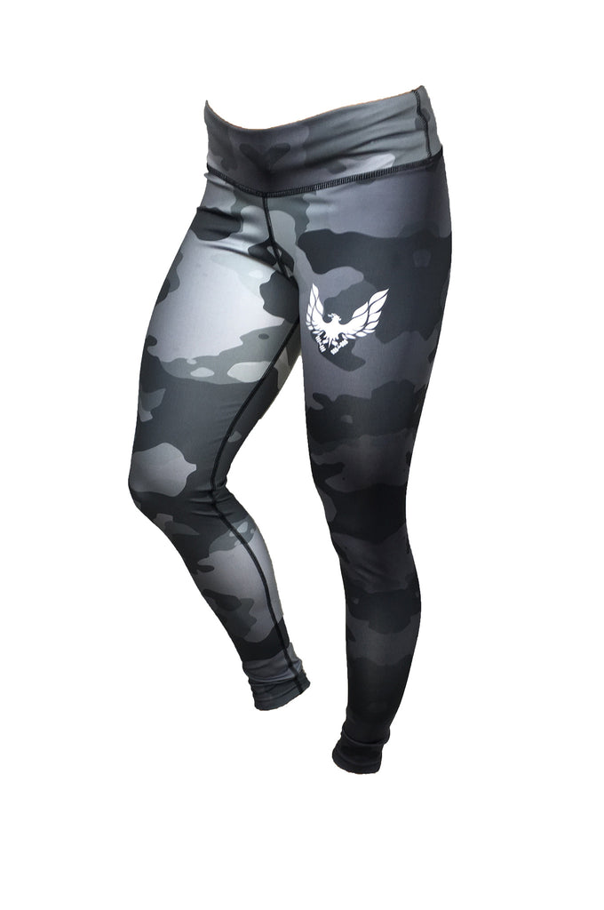 get my body fit grey camo womens leggings