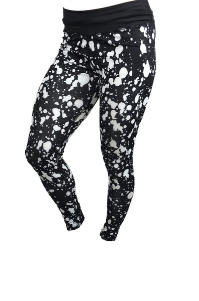 Paint Splash Bodybuilding LAB getmybodyfit gym legging