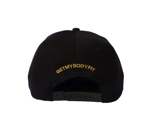 Snap Back Cap Black / Gold
