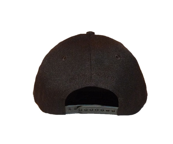 Snap Back Cap Black / Black Monochrome
