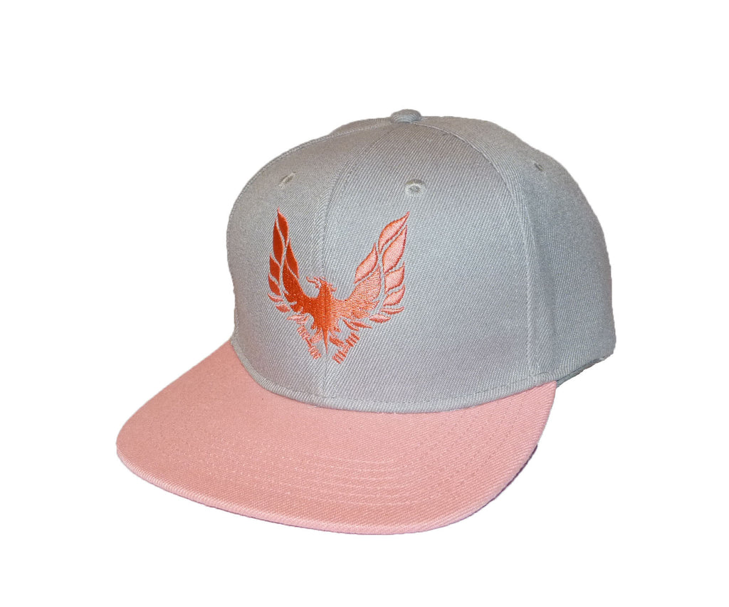 womens snap back cap pink