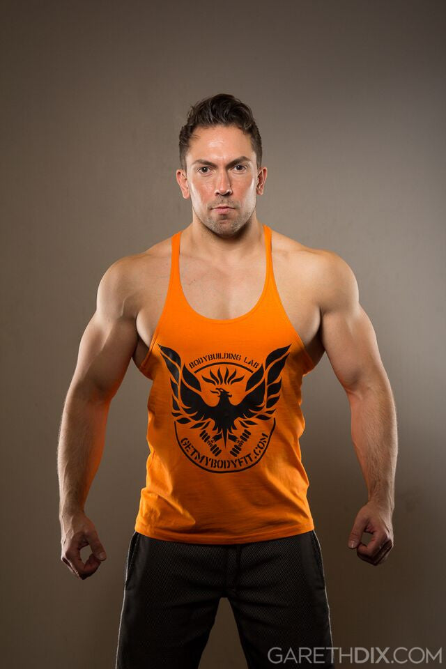 GetMyBodyFit Orange Stringer Vest