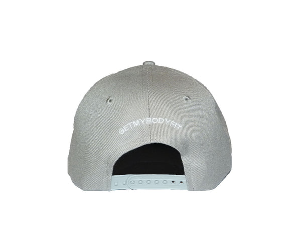 Snap Back Cap Grey / White