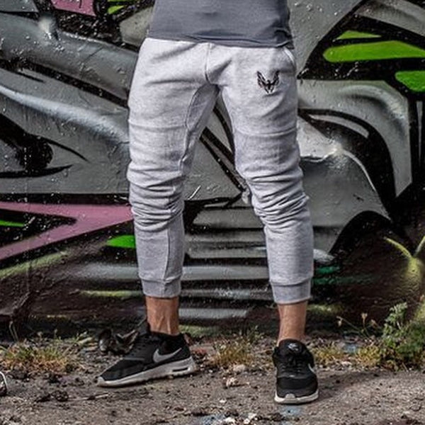 Phoenix GetMyBodyFit Fitted Marl Grey Mens gym Joggers