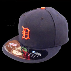 New Era Tigers 59Fifty Navy Road - Navy / Orange