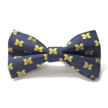 Michigan Repeat Bow Tie 9902