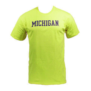 Michigan Basic S/S - Safety Green