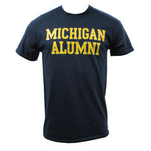Michigan Alumni Basic NVY - Navy