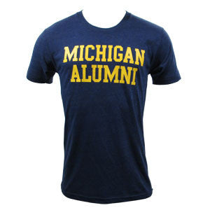 Michigan Alumni Triblend - Tri-Indigo