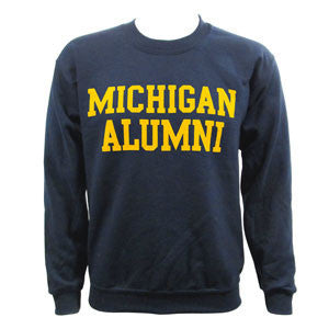 Michigan Alumni Crew NVY - Navy