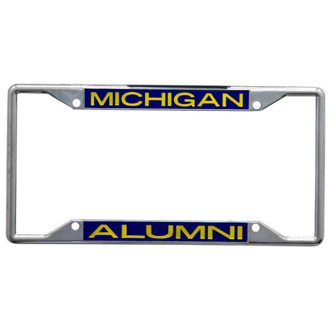 UM Alumni Metal License Plate Frame
