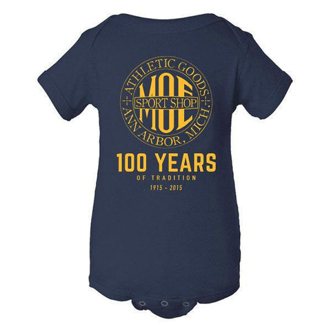 Moe 100 Years Infant Creeper - Navy