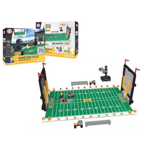 UM Minifigure Full Field Gametime Set