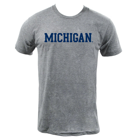 Block Michigan Triblend - Athletic Heather