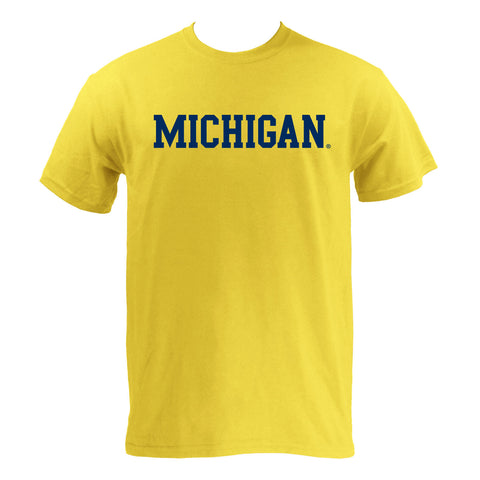 Michigan Basic S/S - Maize