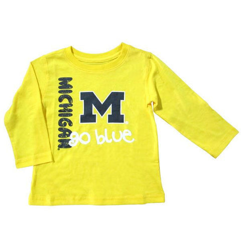 UM Toddler Power Sweep L/S Tee - Yellow