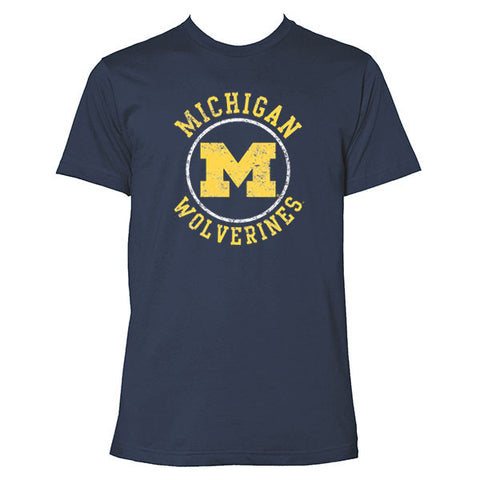 Michigan Circle Logo - Navy