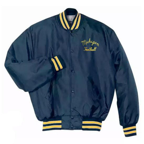 Bo Michigan Football Jacket - Navy