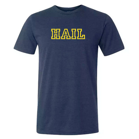 Hail Outline Canvas Triblend - Navy