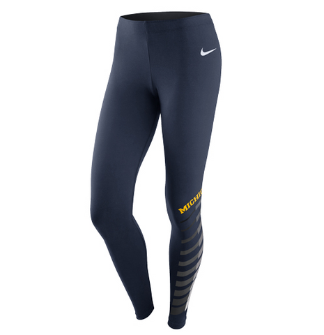 Nike Wms Legasee Tight 34325X - Navy