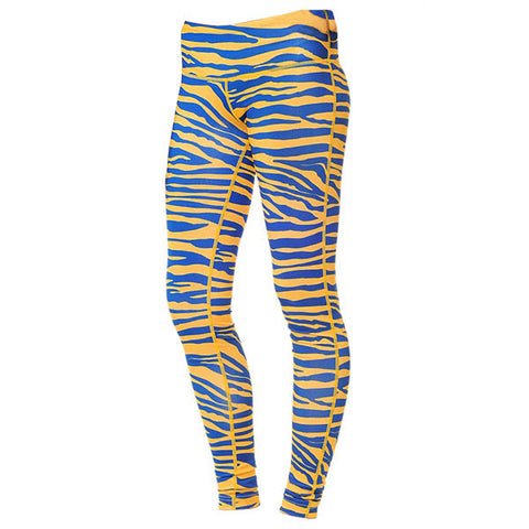 Team Tights Zebra - Navy/Gold