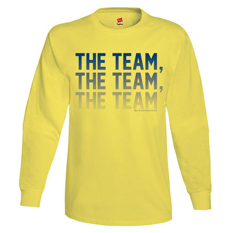 The Team, The Team, The Team™ LS - Yellow