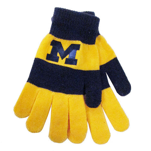 UM Logofit Trixie Glove-60-7302 - Navy/Maize