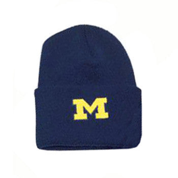 UM Logofit North Pole Knit Cuff Youth Hat - Navy
