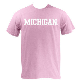 Michigan Basic S/S - Pink
