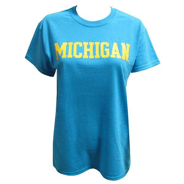 Michigan Basic S/S - Heather Sapphire