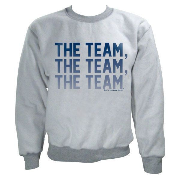 The Team, The Team, The Team™ Inside Out Crew - Sport Grey