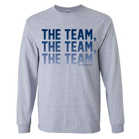 The Team, The Team, The Team™ LS - Sport Grey