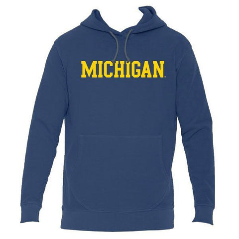 Michigan French Terry Hoodie - Denim