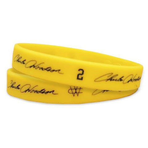Charles Woodson Wristband - Maize (Single Wristband)